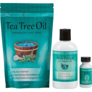 Antifungal Soap, Tea Tree Oil Foot Soak and ReNew Topical Solution